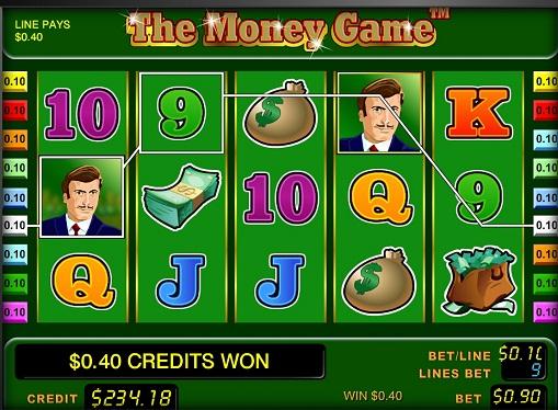 Automat do gry The Money Game bębny