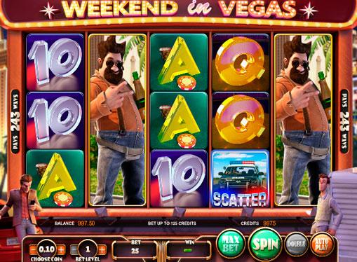 Automat do gry Weekend in Vegas online dla pieniędzy z wnioskiem