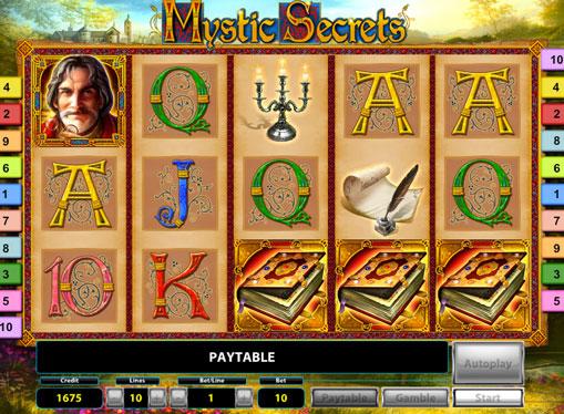 Bębny w automatach do gier Mystic Secrets Deluxe