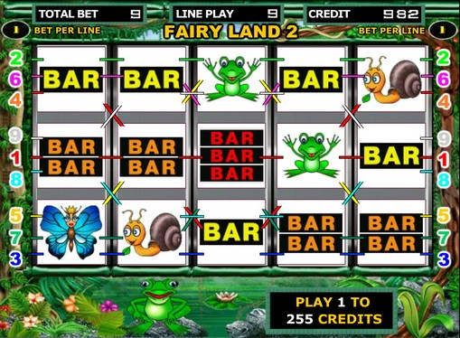 Bębny w grze Fairy Land