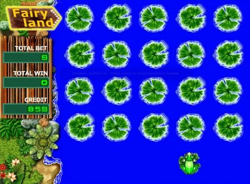 Gra premiowa Żaba w aparacie wróżki ziemi