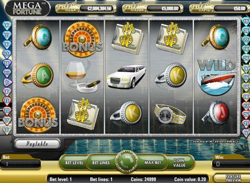 Maszyny do gier Mega Fortune na pieniądze