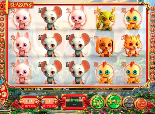 Zagraj w automatie Four Seasons na pieniądze z płatnościami